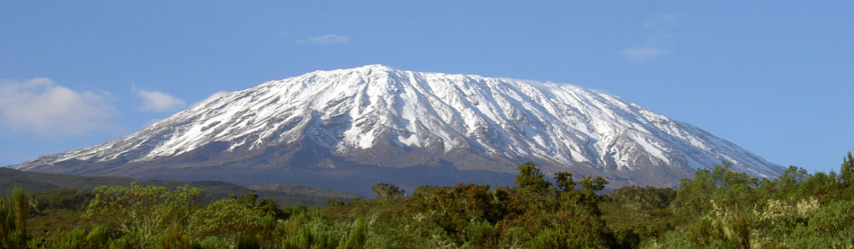 Kilimanjaro i Tanzania