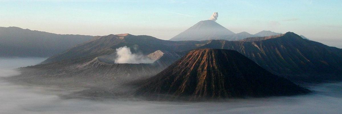 Vulkanen Batur på Bali