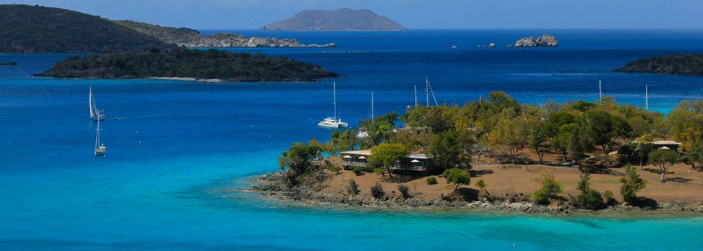 Flot udsigt over lækkert ø-hav
