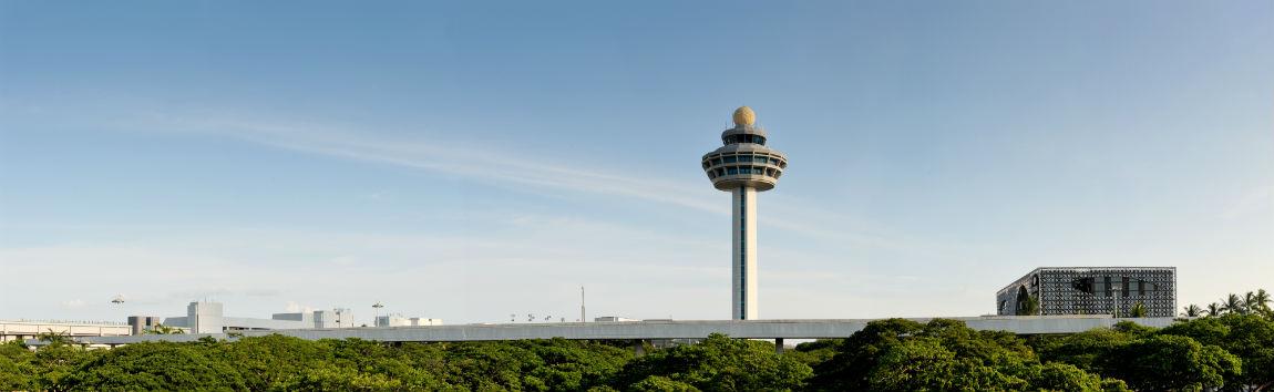 Changi lufthavn Singapore