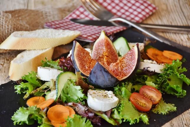 Sund salat, vægttab