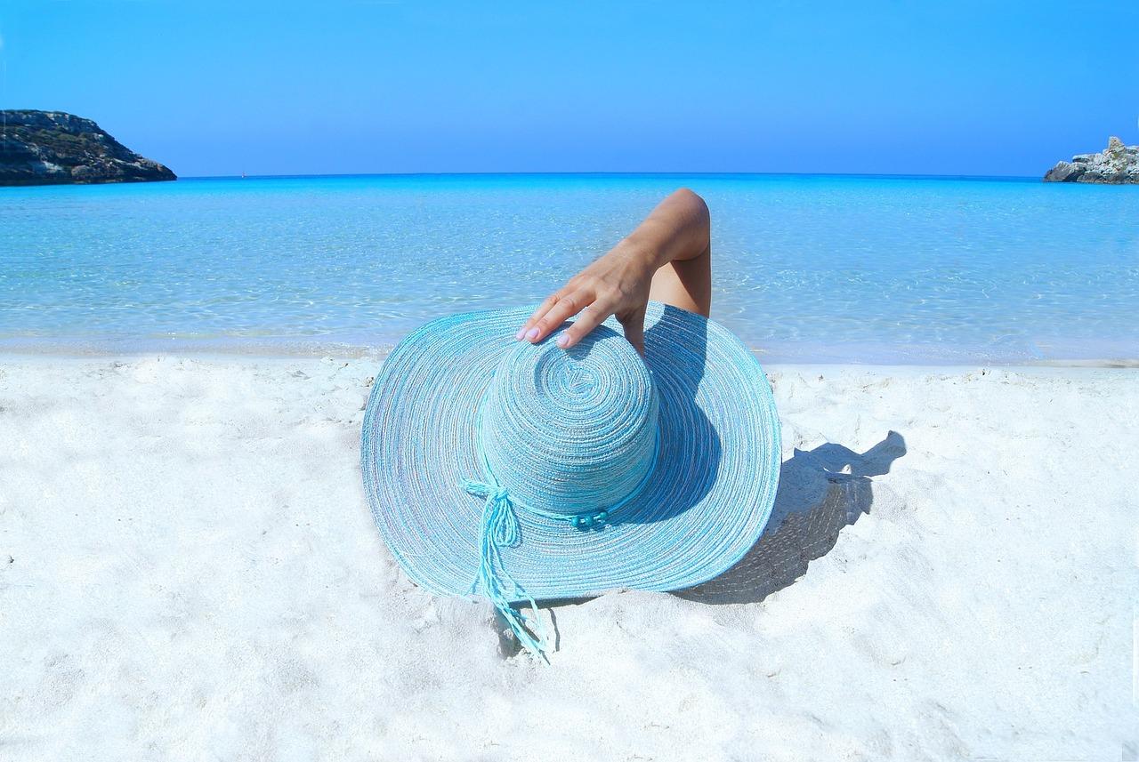Solcreme og strand