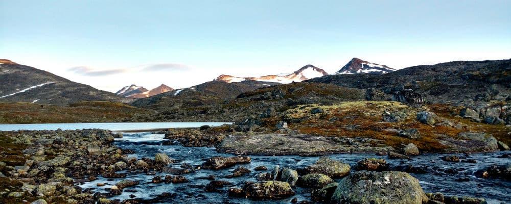 Jotunheimen er en meget smuk nationalpark i Bøverdalen